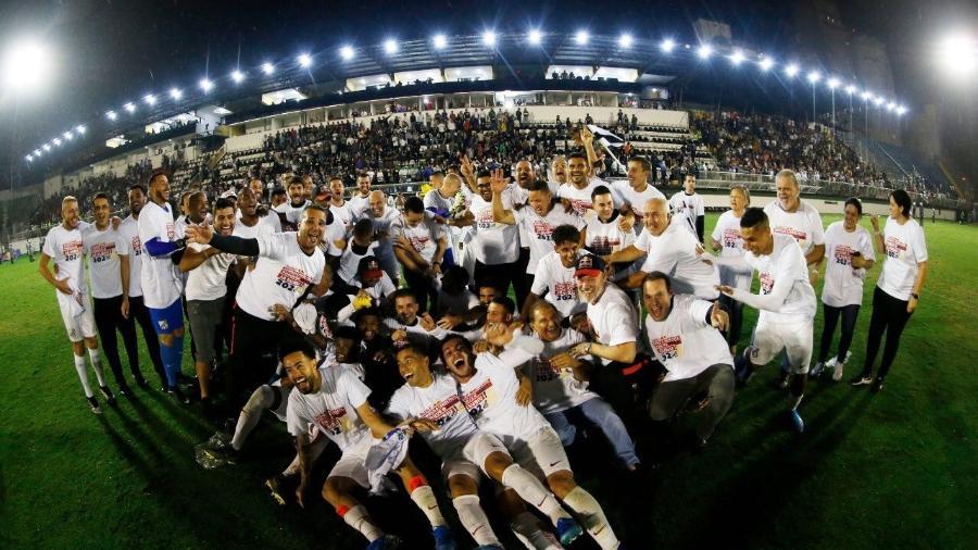 Red Bull Bragantino foi campeão da Série B e chega à elite do futebol brasileiro com um orçamento milionário - Divulgação/Bragantino