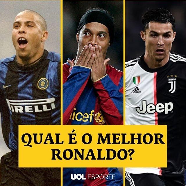 Qual é o melhor Ronaldo?