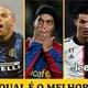Cristiano, Fenômeno ou Ronaldinho? Blogueiros apontam