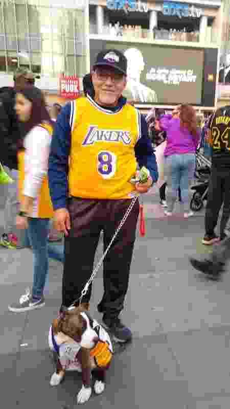 Rigo Flores, fã de Kobe Bryant,... - Juliana Borba/UOL