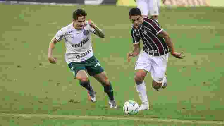 Michel Araújo entrou bem no Fluminense e colocou pulga atrás da orelha de Odair Hellmann - Lucas Merçon/Fluminense FC - Lucas Merçon/Fluminense FC