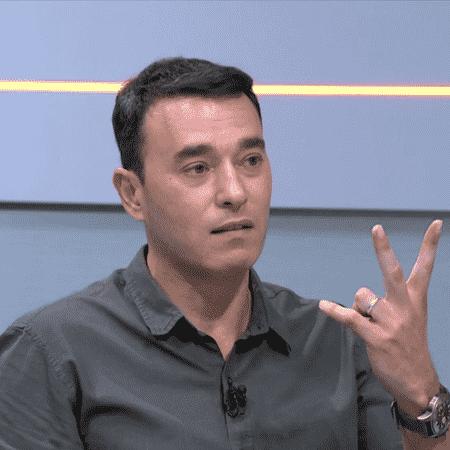 Rizek destaca que último estrangeiro que treinou o Palmeiras durou dois meses - Reprodução/SporTV