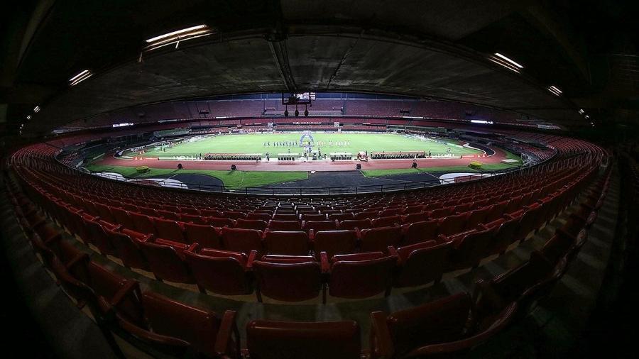 Estádio do Morumbi receberá partida entre São Paulo e Santo André pela 6ª rodada do Paulistão 2021 - Paulo Pinto / saopaulofc.net
