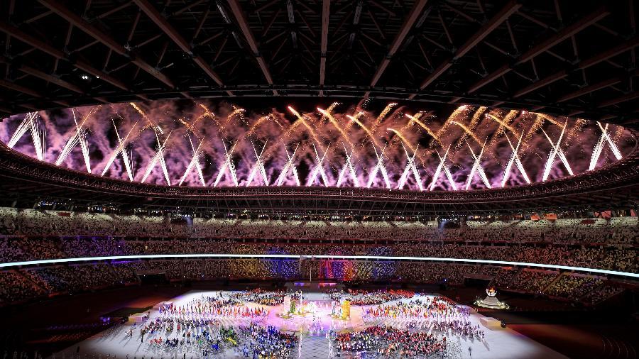 Cerimônia de encerramento das Paralimpíadas de Tóquio - Alex Pantling/Getty Images