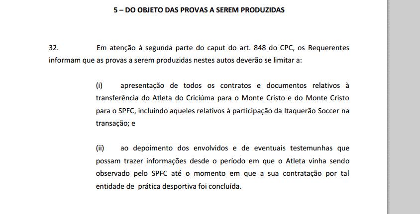 16ca76dafc Sócios do SP vão à Justiça e exigem documentos de caso Iago - 01 10 ...