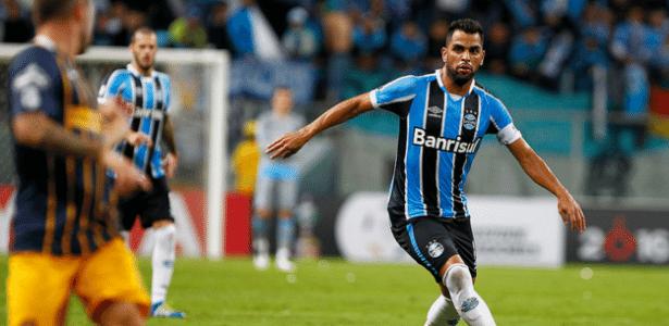 Volante Maicon, capitão do Grêmio, foi chamado de pipoqueiro por torcedores