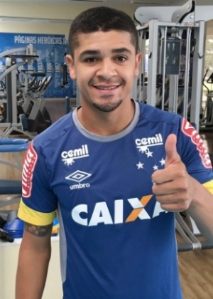 Volante está registrado no BID e já pode estrear com a camisa do Cruzeiro - Cruzeiro/Divulgação