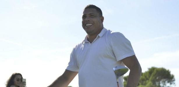Roanldo comemorou aniversário jogando golfe na Espanha - Reprodução/Marca