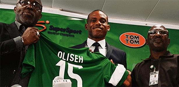 Sunday Oliseh é apresentado como técnico da Nigéria - SundayOliseh.tv - SundayOliseh.tv