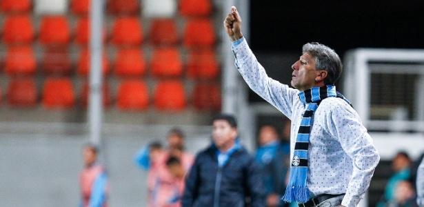 Renato Gaúcho admite chance do Grêmio perder jogadores para clubes europeus - Lucas Uebel/Grêmio