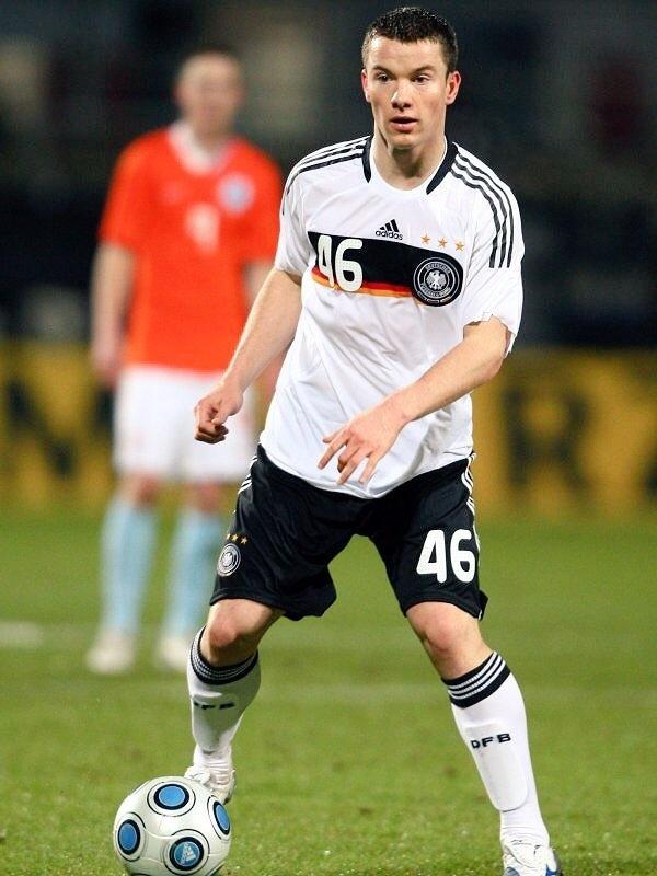 Alexander Baumjohann jogou pela seleção alemã na base