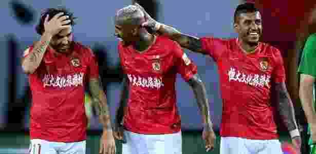 Trio de brasileiros brilha no Guangzhou Evergrande na temporada 2018/19 - Liga Chinesa - Liga Chinesa