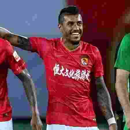 Paulinho, no Guangzhou Evergrande - Liga Chinesa - Liga Chinesa