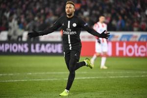 e16162e200 Neymar comemora marca na Champions