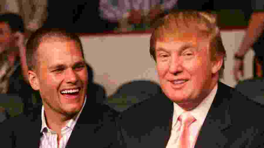 Proximidade de Brady com Trump incomoda alguns fãs de futebol americano, como o ator Daniel Radcliff - Donna Connor/WireImage