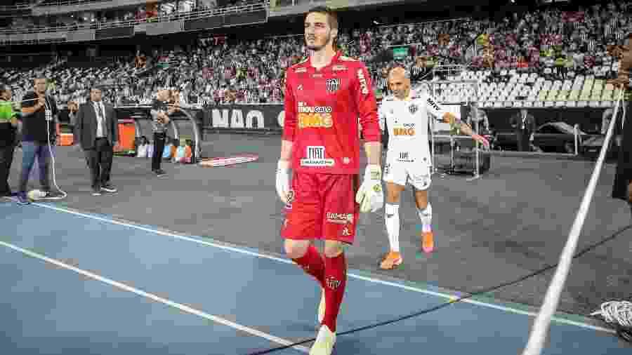 Cleiton, goleiro do Atlético-MG, volta à equipe titular contra o Internacional - Bruno Cantini/Divulgação/Atlético-MG