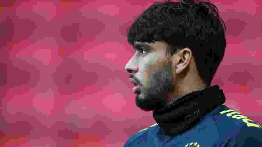 Lucas Paquetá, jogador do Milan, vestiu a camisa 10 da seleção em amistoso diante da Argentina - Lucas Figueiredo/CBF