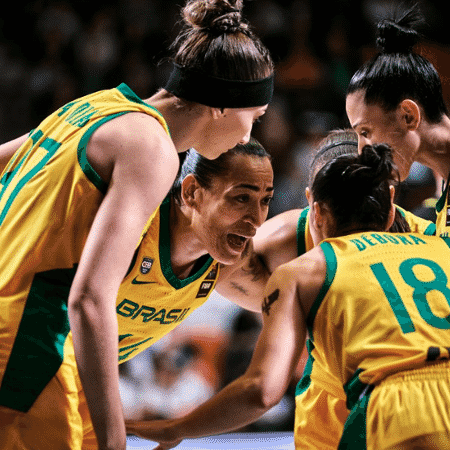 Seleção feminina de basquete disputa o Pré-Olímpico - Divulgação CBB