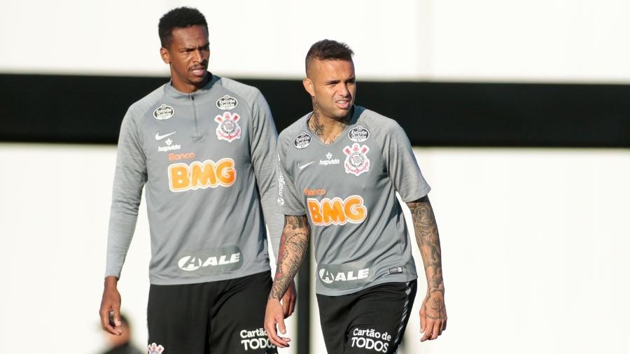 Jô e Luan são as apostas de Mancini para a partida de hoje - Rodrigo Coca/Agência Corinthians