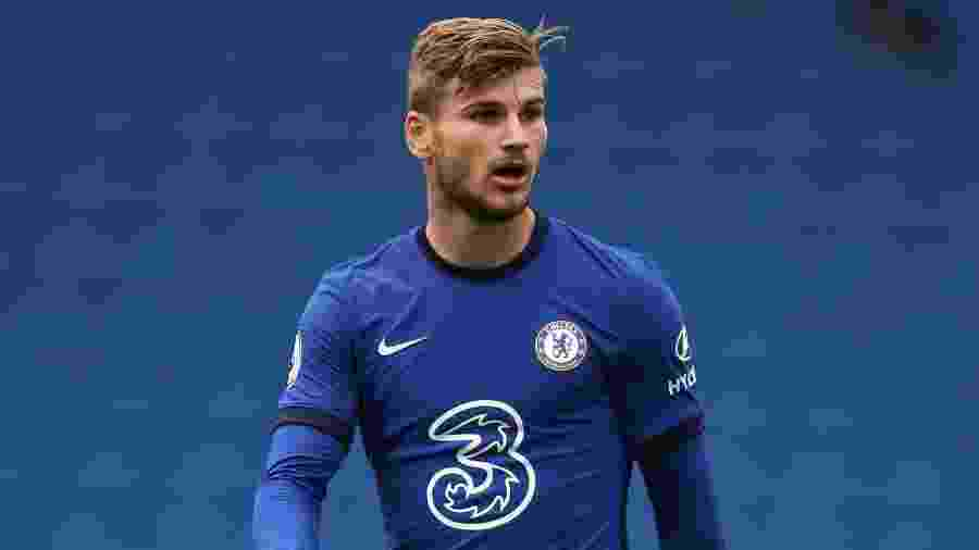 Timo Werner (Chelsea) é uma das novas estrelas do Campeonato Inglês - Getty Images