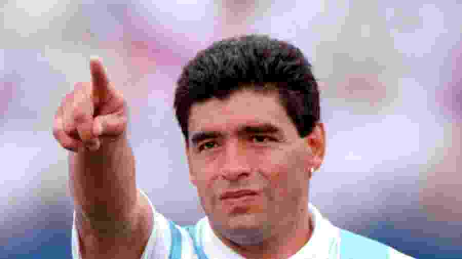 Diego Maradona na Copa de 1994 - Tony Marshall - EMPICS/PA Images via Getty Images