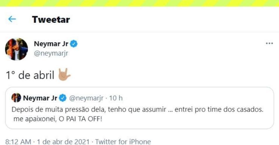 futebol muleke - tt neymar primeiro de abril