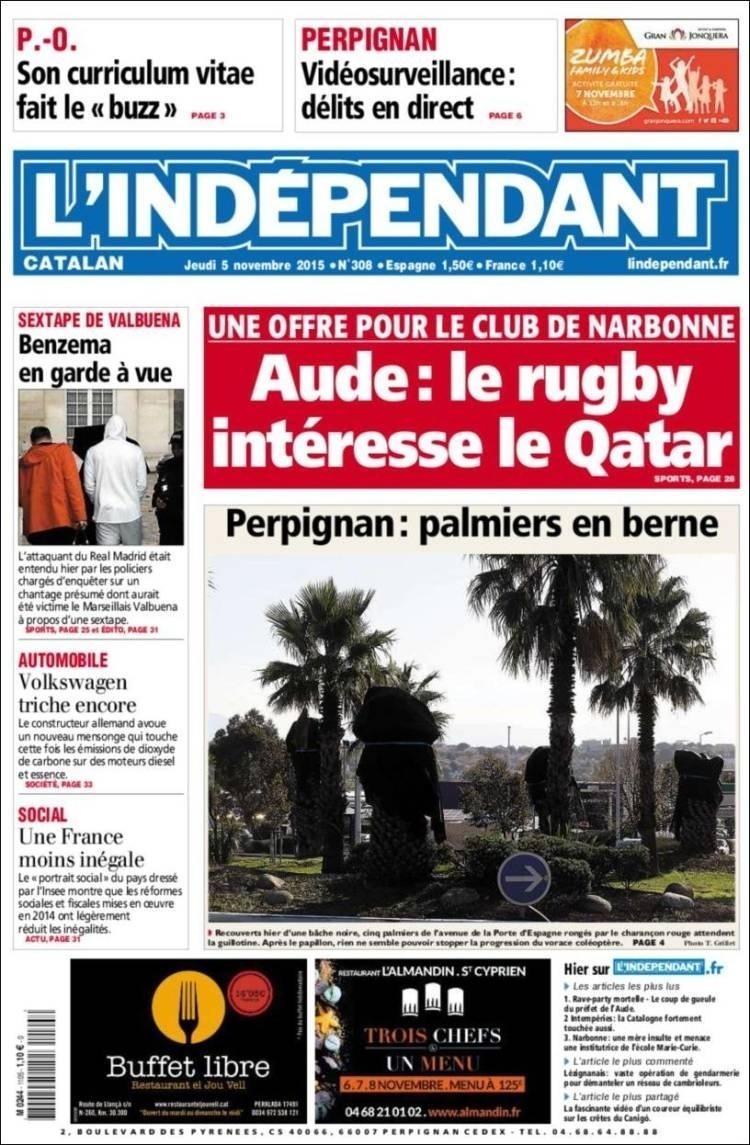 L'Indépendant (Perpignan, França):