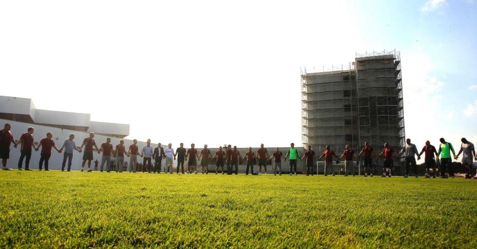 Fluminense realizou primeiro treino no novo centro de treinamento
