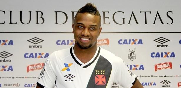 Atacante Kelvin só tem 15 partidas pelo Vasco até aqui - Paulo Fernandes/Vasco.com.br