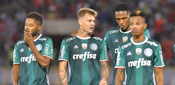 Palmeiras sofreu a primeira derrota na Copa Libertadores