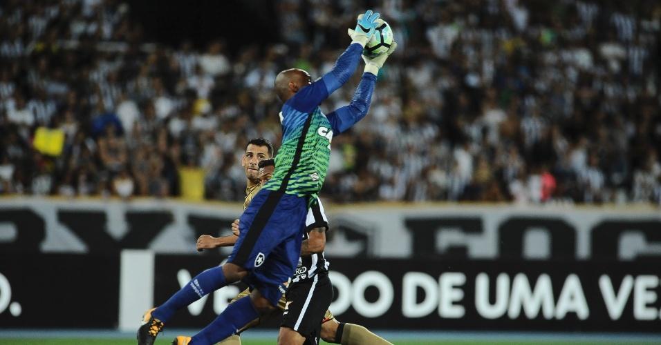 Titular, Jefferson foi observado por Tite em Botafogo x Sport no Engenhão