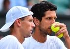 Melo supera Soares e vai à final de duplas do Masters 1000 de Paris - AFP PHOTO / Glyn KIRK