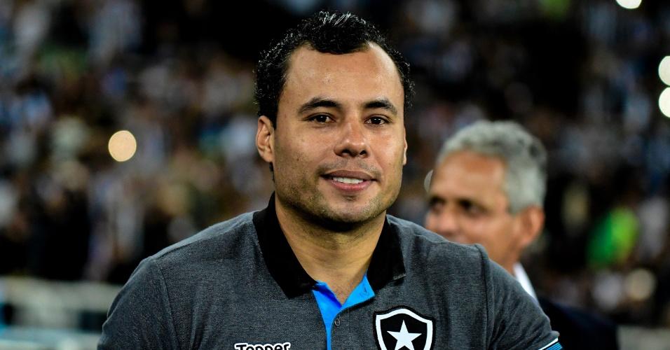 Jair Ventura antes de Botafogo x Flamengo pela Copa do Brasil