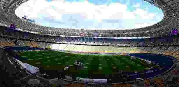 Estádio Olímpico de Kiev, palco da final da Liga dos Campeões em 2018 - Nigel Roddis/Reuters