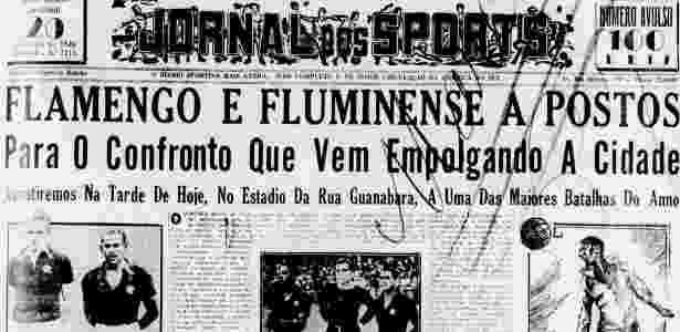 Reprodução / Jornal dos Sports