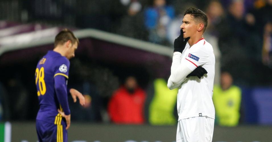 Sevilla se classifica | Ganso marca seu primeiro gol em Liga dos Campeões