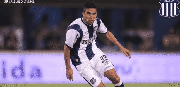 """Emanuel """"Bebelo"""" Reynoso esteve nos planos do clube, mas deixou de ser prioridade - Divulgação/Talleres"""