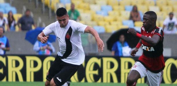 Paulinho, do Vasco, e Vinicius Jr, do Fla, se enfrentaram uma vez no profissional - Paulo Fernandes / Flickr do Vasco