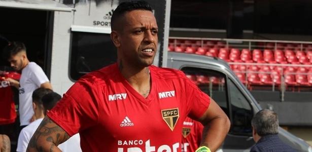 O goleiro Sidão, do São Paulo