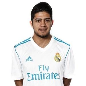 Sergio Díaz desembarcou no Brasil na manhã desta quinta-feira e foi submetido a exames médicos - Divulgação/Real Madrid Castilla
