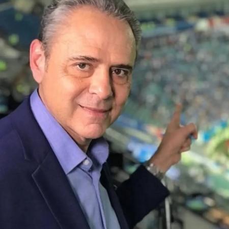 Luis Roberto, narrador da TV Globo - Reprodução/Instagram