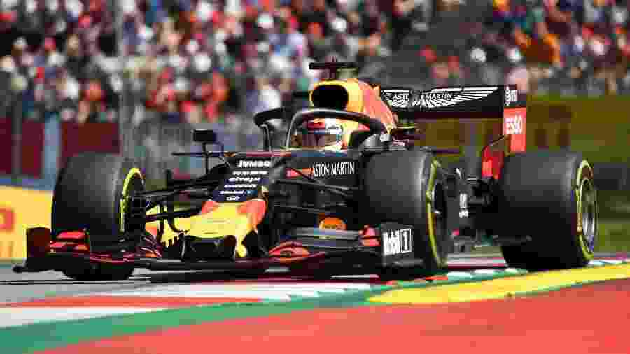 Max Verstappen, da Red Bull, durante o GP da Áustria - JOE KLAMAR/AFP