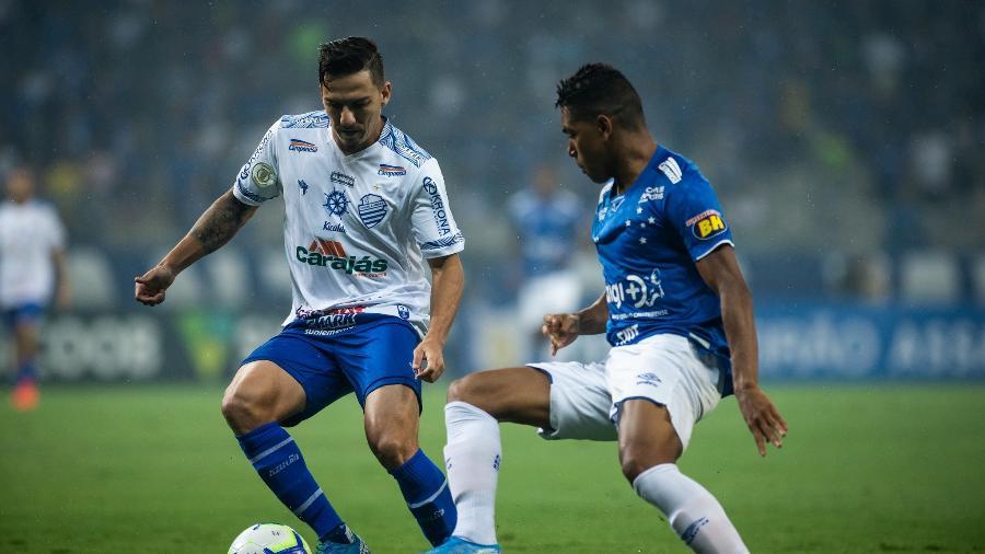 Lance da partida entre Cruzeiro x CSA - Bruno Haddad/Cruzeiro
