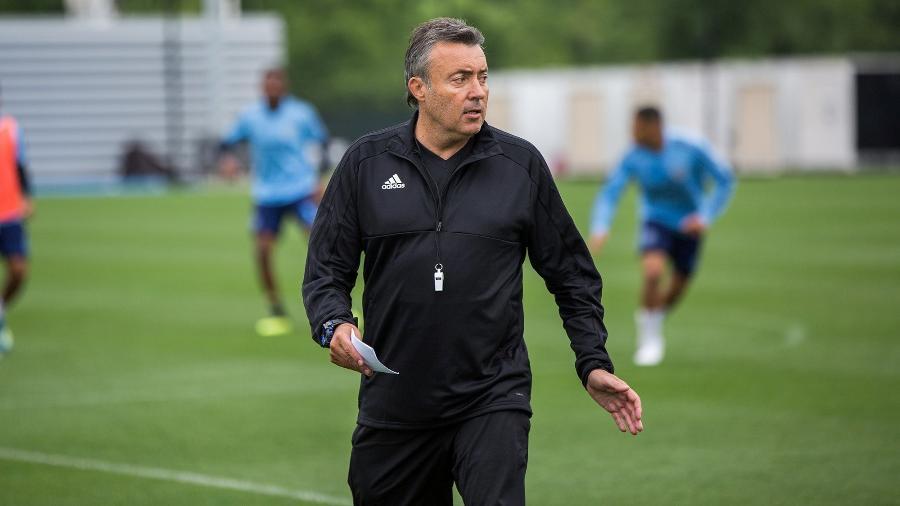 Domènec Torrent, técnico espanhol que dirigiu o New York City FC em 2018 e 2019 - Reprodução/Twitter New York City FC