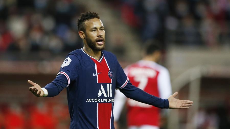 Neymar não foi punido em julgamento da Comissão de Disciplina da Liga Francesa - Pascal Rossignol/Reuters