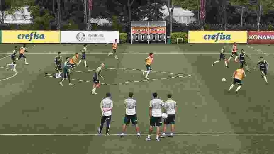 Treino do Palmeiras, na Academia de Futebol - Cesar Greco