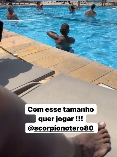 Jô e Otero em resort - Reprodução/ Instagram  - Reprodução/ Instagram