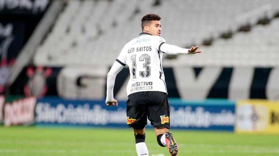 Léo Santos entrou em campo já nos últimos minutos da vitória sobre o Ituano - Rodrigo Coca / Agência Corinthians