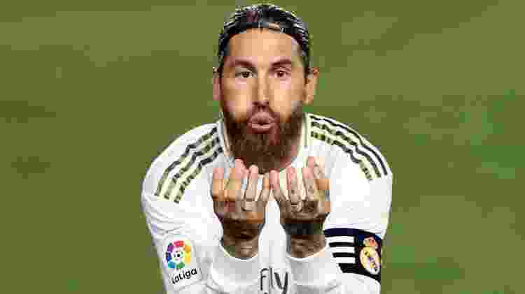 Sergio Ramos, zagueiro do Real Madrid - Angel Martinez/Getty Images - Angel Martinez/Getty Images