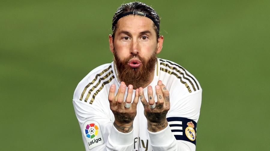Sergio Ramos deixou o Real Madrid e ainda não anunciou seu novo time - Angel Martinez/Getty Images